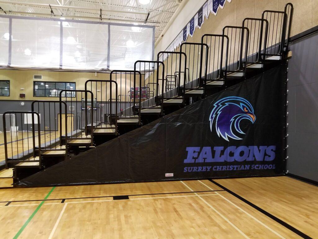 Falcons - Side Curtain